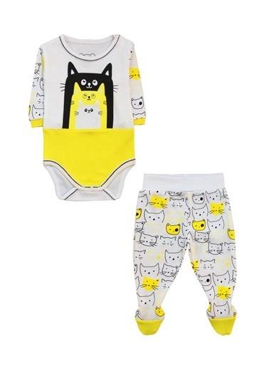 By Leyal For Kids 2 li Takım Sarı